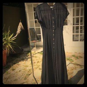 DKNY for Bergdorf Goodman Vintage Dress, 100% Silk